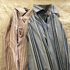Men's dress shirt bundle.